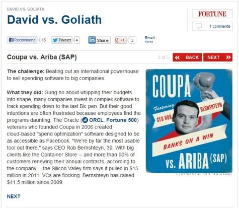 Coupa Beats SAP CNN