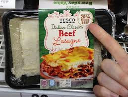 PI Tesco Horse Meat
