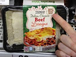 PI Tesco Horse Meat