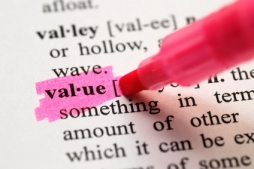 How do you define value . . .