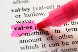 How do you define value . . .