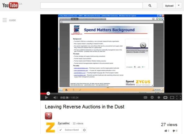 Zycus Busch TV Segment
