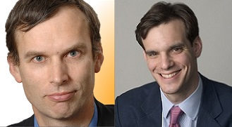 Jones and Busch (separated at birth) - they even have the same hair cut . . .