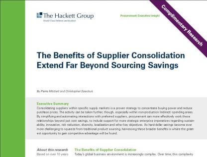 Hackett Consolidation