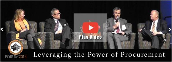 "Click the above image to watch the video ""Leveraging The Power of Procurement"""
