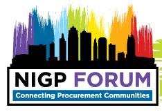 NIGP 2105 Forum