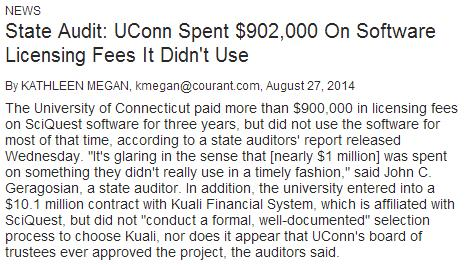 UConn Audit