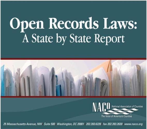 CodeGate Open Records Law