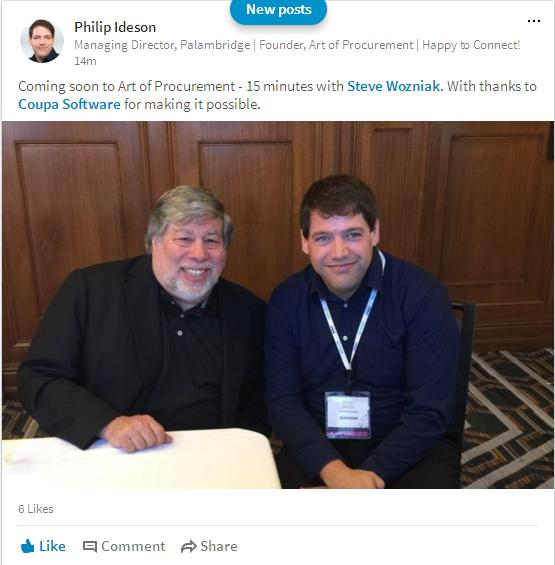 Phil Ideson and Coupa