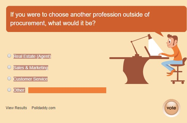 A Poll May 2018 New Career